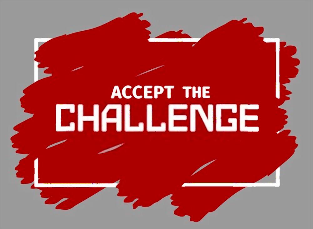 cursos online de inglés - accept the challenge